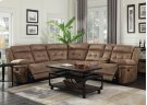 "Anastasia Right Arm Loveseat w/ Console&1 Recliner,76""x40""x42.5 Product Image"