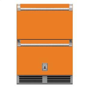 "Hestan24"" Hestan Outdoor Refrigerator Drawer and Freezer Drawer - GRF Series - Citra"