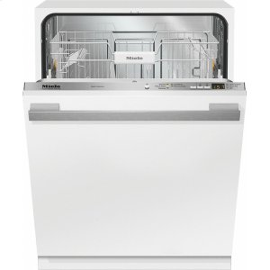 MieleG 4998 Vi AM Fully-integrated, full-size dishwasher with hidden control panel, cutlery basket and custom panel and handle ready
