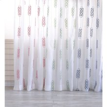 In Link Drapery, CORAL, 50X108