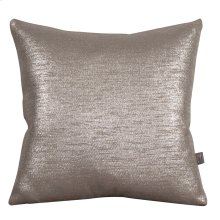 "20"" x 20"" Pillow Glam Pewter"