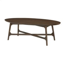 Mila Oval Cocktail Table