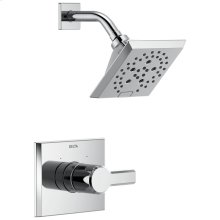 Chrome Monitor ® 14 Series H2Okinetic ® Shower Trim