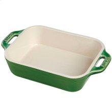 "Staub Ceramics 5.5x4"" Rectangular Baking Dish, Basil"