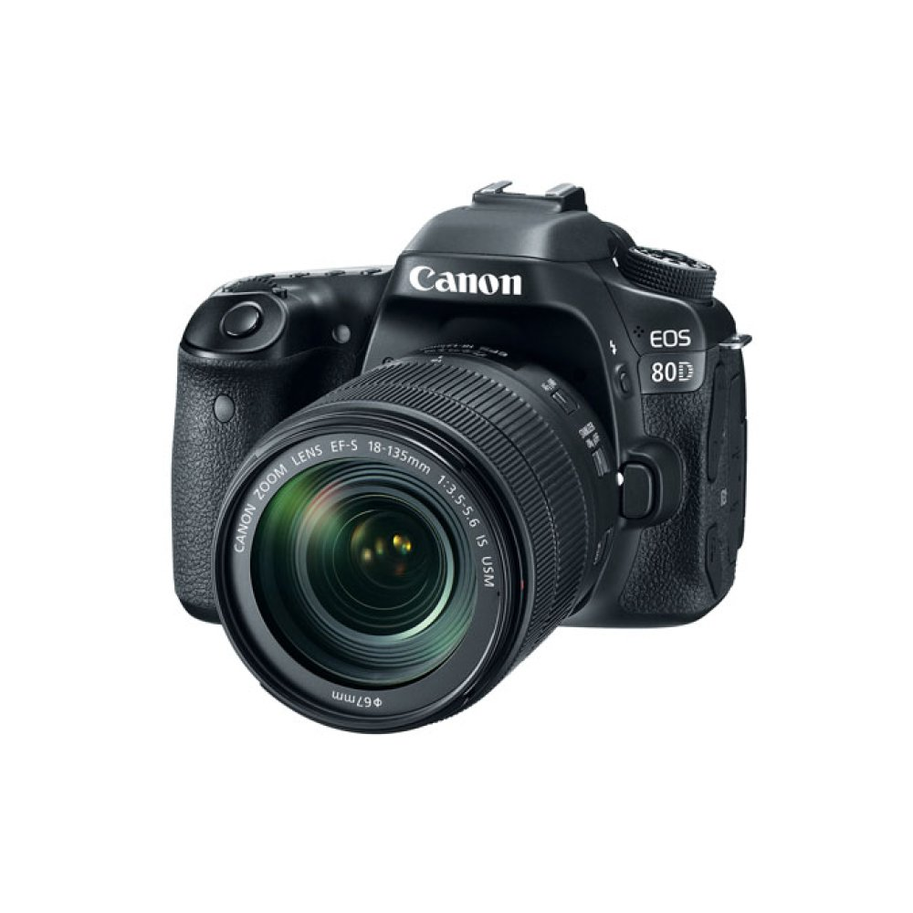 Canon EOS 80D EF-S 18-135mm f/3.5-5.6 IS USM Lens Kit Digital SLR Camera