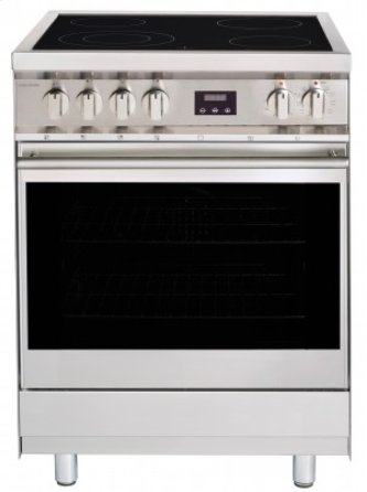 "24"" (60cm) stainless steel slide-in electric range"