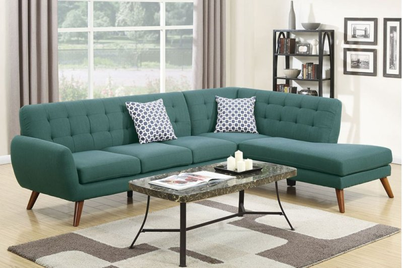 F6955 in by Poundex in Tampa, FL - 2-pcs Sectional Sofa