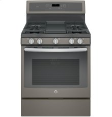 "GE Profile Series 30"" Free-Standing Gas Convection Range"