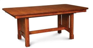 West Lake Trestle Table, 4 Leaf