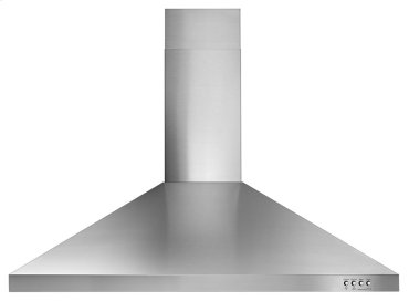"36"" Contemporary Stainless Steel Wall Mount Range Hood"