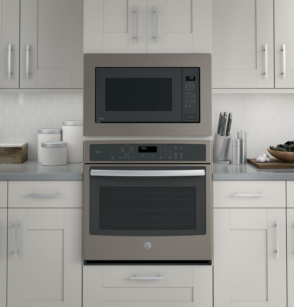 GE Profile™ Series 2.2 Cu. Ft. Built In Sensor Microwave Oven