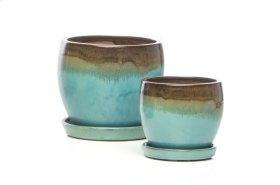 Nicola Petits Pots w/ att. scr - 4 sets of 2 (Min Qty 4)