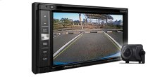 "In-Dash Navigation AV Receiver with 6.2"" WVGA Touchscreen Display and included ND-BC8 back up camera"
