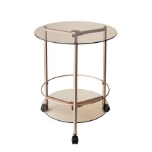 Gibson Rolling End Table