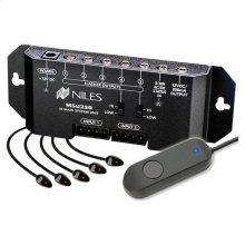 HT Remote Control Anywhere! Kit; Surface-Mount IR MicroSensor; Auto Trig-Blk RCA-HT2