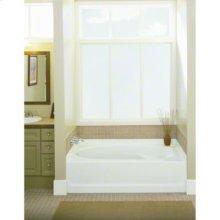 """Ensemble™ 36, Series 7110, 60"""" x 36"""" Bath - Left-hand Drain, 3-Pack - White"""