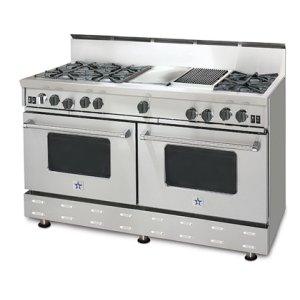 """60"""" RNB SERIES RANGE WITH A GRIDDLE & CHARBROILER"""