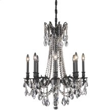 8208 Rosalia Collection Hanging Fixture Dark Bronze Finish