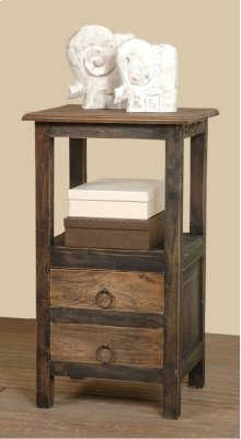 Sunset Trading Cottage Two Drawer End Table
