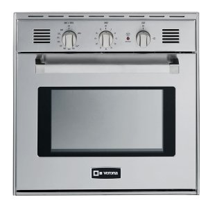 "VeronaStainless Steel 24"" Gas Wall Oven"