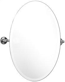 """Antique Gold Tilting mirror, 22 1/2"""" H x 15 5/8"""" W"""