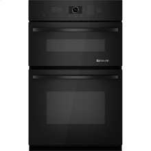 "Combination Microwave/Wall Oven with MultiMode® Convection, 27"", Black Floating Glass w/Handle"