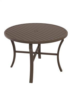 """Banchetto 54"""" Round KD Counter Umbrella Table"""