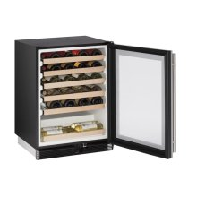 "24"" Wine Captain ® Model Stainless Frame Field Reversible Door"
