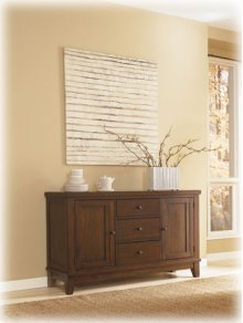 Dining Room Buffet Holloway - Reddish Brown Collection Ashley at Aztec Distribution Center Houston Texas
