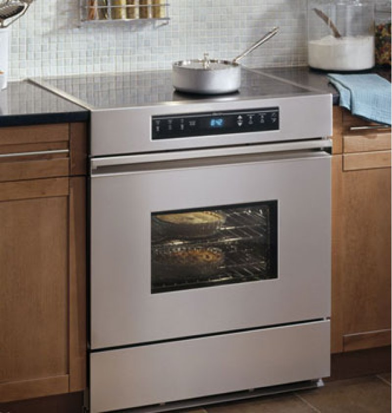 Renaissance 30 Electric Range In Stainless Steel With Black Ceramic Gl Top