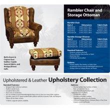 Rambler Chair and Ottoman