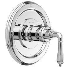 Ashbee 1/2 Inch or 3/4 Inch Thermostatic Valve Trim with Lever Handles - Polished Chrome