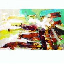 Maroon Abstract