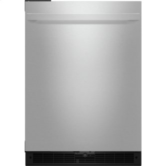 "NOIR(TM) 24"" Under Counter Solid Door Refrigerator, Left Swing, NOIR"