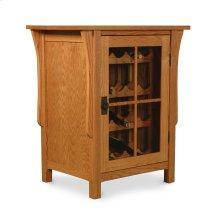 Prairie Mission Wine Cabinet