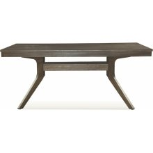 """40"""" x 72"""" Dining Table in Pewter"""