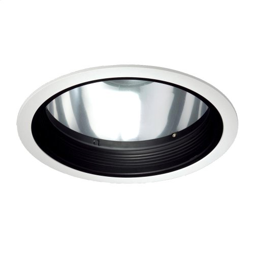 TRIM,8IN STEPPED BAFFLE - White