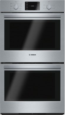 "500 Series, 30"", Double Wall Oven, SS, EU conv./Thermal, Knob Control"