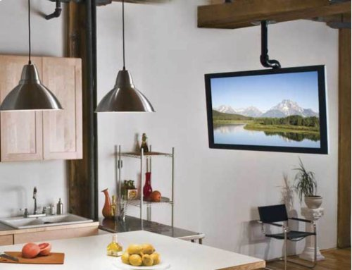 """TV Ceiling Mount for 37""""-70"""" TVs With Smooth Tilt & Swivel"""