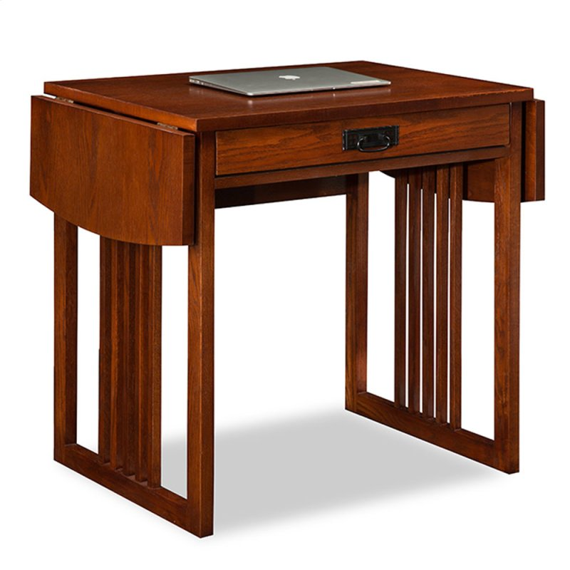 Mission Oak Drop Leaf Computer Writing Desk 82420