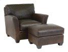 Fletcher Chair & Ottoman Product Image