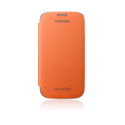 Galaxy S® III Flip Cover, Orange