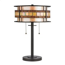 Annondale Collection 2 light table lamp in Tiffany Bronze