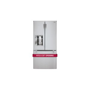 24.2 cu. ft. French Door Refrigerator - STAINLESS STEEL