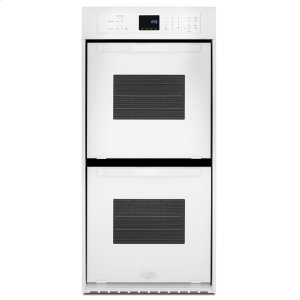 6.2 Cu. Ft. Double Wall Oven with High-Heat Self-Cleaning System - WHITE