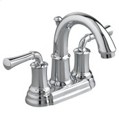 Portsmouth 2-Handle 4 Inch Centerset High-Arc Bathroom Faucet with Lever Handles - Polished Chrome