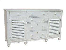Newport Dresser - Wht