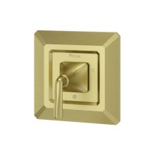 Brushed Gold Park Avenue Valve, Trim Only