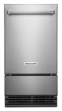 """KitchenAid® 18"""" Outdoor Automatic Ice Maker - Stainless Steel"""
