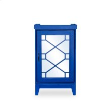 Indochine Mini Bar Cabinet Blue